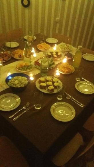 Food Kätriin prepared
